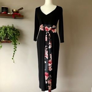Ripe maxi long black dress made in Australia